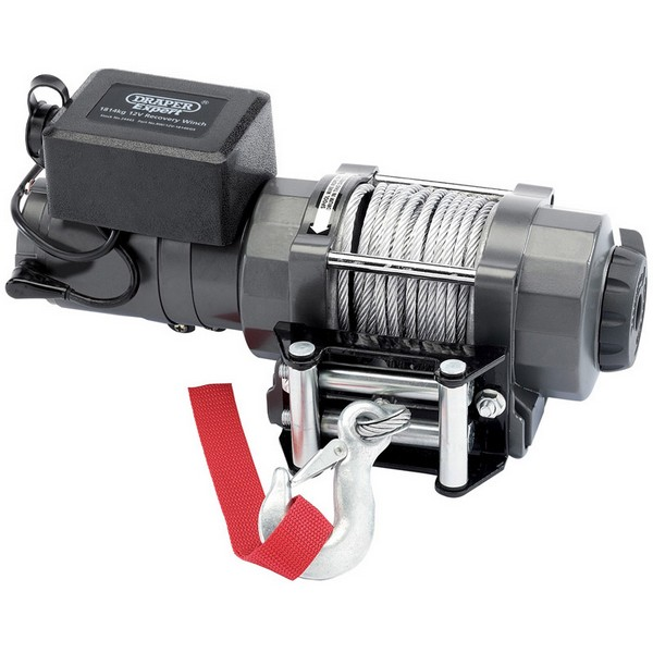 Draper Electric Winch 12 Volt 1814kgs Irish Forestry Products
